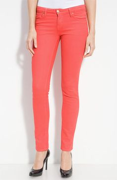 Kate Spade New York : 'broome street' overdyed skinny jeans