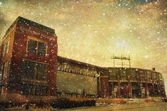 Frozen Tundra   Lambeau Field  Green Bay Packers  8x12 by thejdawg, $30.00
