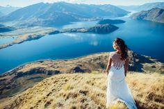 Adventurous New Zealand Helicopter Wedding