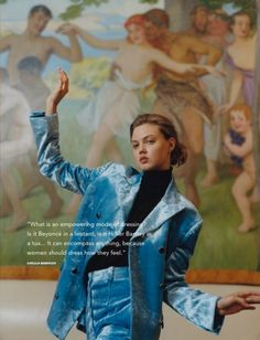 i-D Pre-Fall 2016  Lindsey Wixson by Letty Schmiterlow.