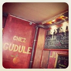 Chez Gudule - great place to go for a coffe or drink