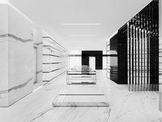 Saint Laurent Store in Milan / by Hedi Slimane