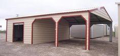 Garage / carport / side entry