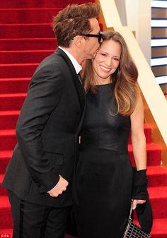 Robert Downey jr + wife