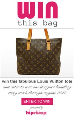 Last day to win this Louis Vuitton Tote FREE! http://icefairystreasurechest.blogspot.com/2012/07/win-this-bag-giveaway-week-2-louis.html