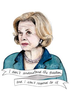 Lucille Bluth watercolor portrait PRINT Arrested by ohgoshCindy, £9.00