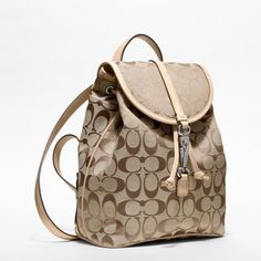 Coach Mini Backpack | Coach :: Signature Small Backpack from Coach