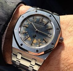 Audemars Piguet Royal Oak 15202 Limited Tropic Dial