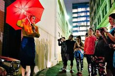 Asics: Immersive theatre and 5k run experience