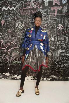African Prints in Fashion: Selly Raby Kane: Dakar City of Birds - FW 15/16