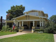 1000 images about bungalows arts and crafts period for Craftsman homes for sale in texas