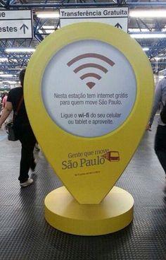 té o dia 8 de novembro, usuários da CPTM terão acesso gratuito à internet Wi-Fi em seis estações: Barra Funda (linhas 7-Rubi e 8-Diamante); Osasco (linhas 8-Diamante e 9-Esmeralda); Pinheiros (Linha 9-Esmeralda); Tamanduateí e Santo André (Linha 10-Turquesa) ;e Tatuapé (linhas 11-Coral e 12-Safira) .