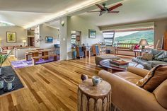 Open House Pick of the Week: A Gorgeous Kailua Home Designed by a Frank Lloyd Wright Student - Real Estate - October 2014 Natural Waterfalls, Hawaiian Homes, Frank Lloyd Wright, Home List, Open Floor, Contemporary, Modern, My Dream Home, Open House