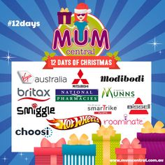 12 Days of Christmas Entry Form - Mum Central