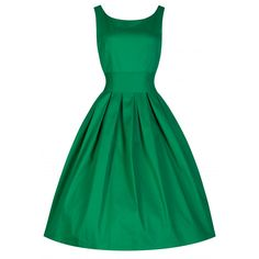 Elsie's Attic Aclassic and elegant, vintage inspired dress The subtle features of the lower 'v' back, waspish cinch belt (detachable), tailored bodice and flirty full skirt emphasise your hourglass figure Dress features: Made from a good quality...