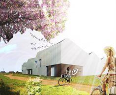 0020 POM: bouw van een duurzaam ondernemerscentrum te Maldegem voor de Provinciale Ontwikkelingsmaatschappij Oost-Vlaanderen.
