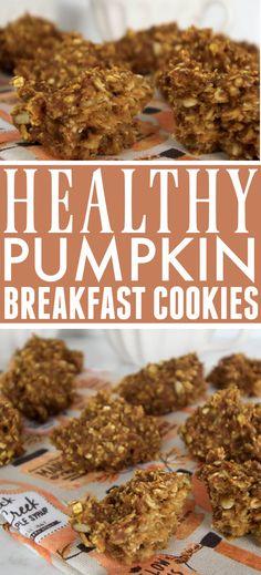 Pumpkin Breakfast Cookies | The Creek Line House Pumpkin Breakfast Cookies, Healthy Living, Recipes, Healthy Life, Healthy Lifestyle, Recipies, Recipe