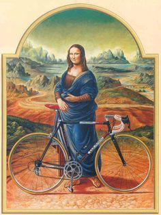 vintage colnago poster