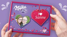 The personalised I ❤ Milka box is the perfect gift for any occasion. Who will you surprise with this chocolaty gift? The personalised I ❤ Milka box is the perfect gift for any occasion. Who will you surprise with this chocolaty gift? First Anniversary Gifts, Paper Anniversary, Wedding Vow Art, Unique Valentines Day Gifts, Your Surprise, Personalised Gifts For Him, Relationship Gifts, Love Coupons, Gift Finder