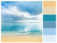 Sea  Color Combination, Palette, Design, Color Scheme
