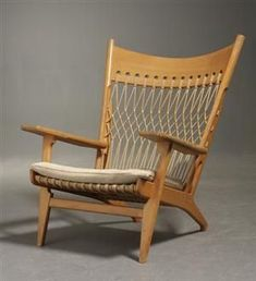 Hans Wegner; #JH-719 Lounge Chair for Johannes Hansens Møbelsnedkeri, 1968. #LoungeChair