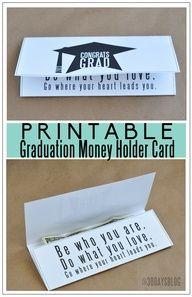 graduation announcement cards free printable