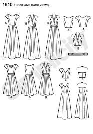 Simplicity 1610.  View A (sleeveless) is like pink dress I tried on and LOVED at TJ Maxx