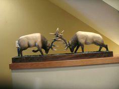 Pine/ elk duel