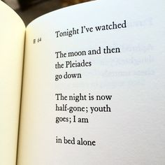 From if not winter fragments of sappho tr anne carson poetry 3 this is one of my favorite poems by the ancient greek poet sappho she was a master of packing a lot into a very tiny lyric which is good since fandeluxe Gallery
