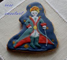 Il Piccolo Principe - Biscotto decorato con glassa reale
