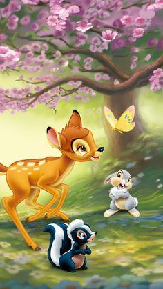 https://wallpaperscraft.com/image/bambi_1942_thumper_flower_butterfly_friends_96052_750x1334.jpg