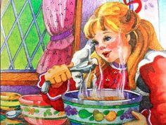 Goldilocks and the Three Bears Fairy Tale Bedtime Story video on You Tube