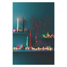 FREDRICK Extra large red metal reindeer decorative object | Buy now at Habitat UK