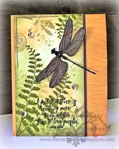 Stamp 2 Create: Dragonfly Dreams!