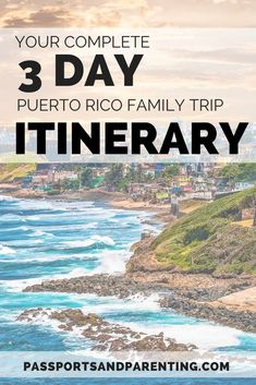 Here's the best 3 day itinerary for a vacation or weekend staycation in San Juan, Puerto Rico with kids. Ultimate tips for what to do and where to stay on the island. Best Vacation Spots, Best Vacations, Vacation Destinations, Mountain Photography, Travel Photography, Wedding Photography, Cheap Weekend Getaways, Great Places To Travel, Family Friendly Resorts