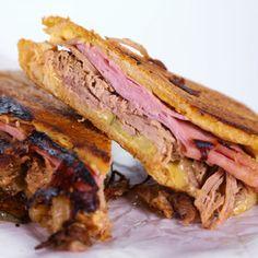 Cuban Sandwich (I added Genoa Salami) *this recipe is D-E-L-I-C-I-O-U-S!!!