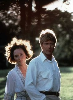 """meryl i love you! w robert redford in """"out of africa"""""""