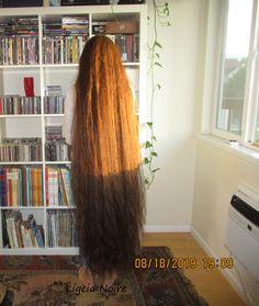 Really Long Hair, Long Red Hair, Wavy Hair, Long Hair Drawing, Rapunzel Hair, Beautiful Long Hair, How To Draw Hair, Shoulder Length Hair, Down Hairstyles