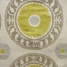LOVE this Suzani fabric.  Just ordered two yards to make pillows for kitchen chairs...watch this space!