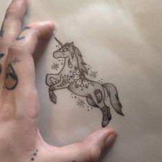 Unicorn Tattoo by Medusa Lou Tattoo Artist - medusaloux@hotmail.com | Beautiful Cases For Girls