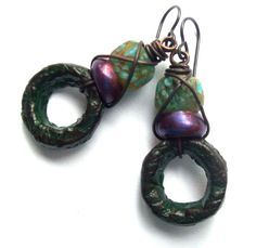 Hey, I found this really awesome Etsy listing at https://www.etsy.com/listing/207768192/rustic-earthy-bohemian-dangle-earrings