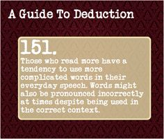 A guide to deduction...
