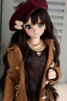 Anime Dolls, Bjd Dolls, Barbie Dolls, Pretty Dolls, Beautiful Dolls, Dainty Doll, Manga, Cute Baby Dolls, Kawaii Doll