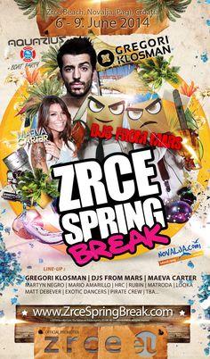 Zrce Spring Break 2014, eines der ersten Events 2014  - Zrce - Zrce Events - Get ready for Season 2015