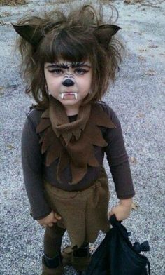 Girl Warewolf Costume! I love it!