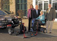 Eureka Solutions - Chariot  Vehicle conversion Adaptation automobile 1-866-562-2555
