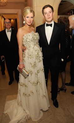 In May, Nicky wore a stunning embellished ball gown as she attended the FIT Annual Gala with husband James Rothschild in New York City.