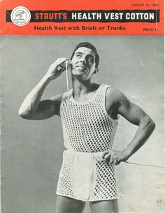 "This is a ""health"" vest? Does that mean regular underwear is unhealthy? Oh god. 