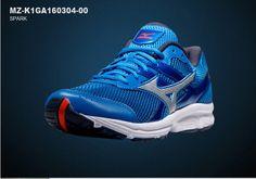 Mizuno Mens Spark Athlectic Running Shoes Sneakers MZ-K1GA160304-00 #Mizuno #AthleticSneakers