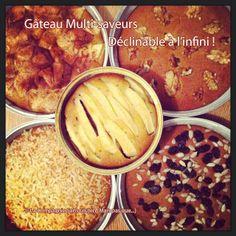 La-Compagnie-Sans-Gluten, un blog-sans-gluten-et-sans-lait, bio-et-végétarien !: Dessert multi-saveurs